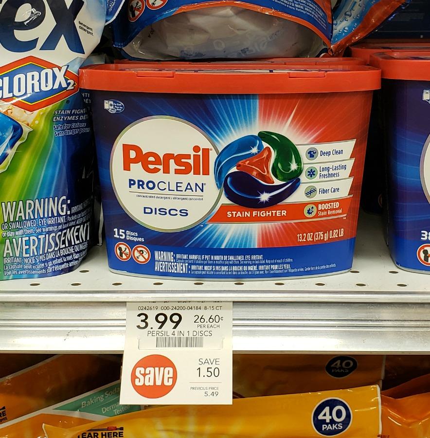Persil ProClean Discs - Just $1.99 At Publix (reg $5.49) on I Heart Publix