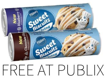 Coupon For FREE Pillsbury Refrigerated Sweet Biscuits on I Heart Publix