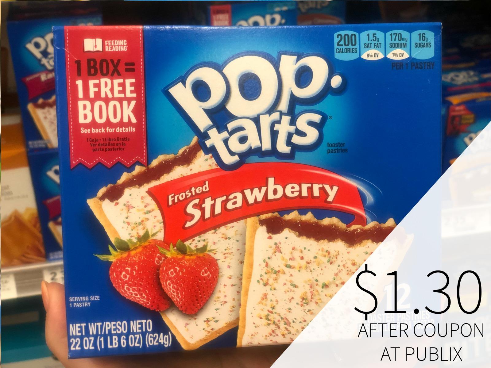 Kellogg's Pop-Tarts Only $1.30 At Publix on I Heart Publix