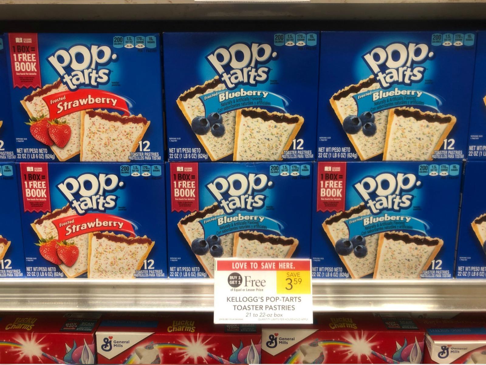 Kellogg's Pop-Tarts Only $1.30 Per Big Box At Publix on I Heart Publix