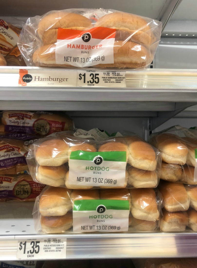 Save On Publix Hamburger or Hotdog Buns With The Digital Coupon on I Heart Publix