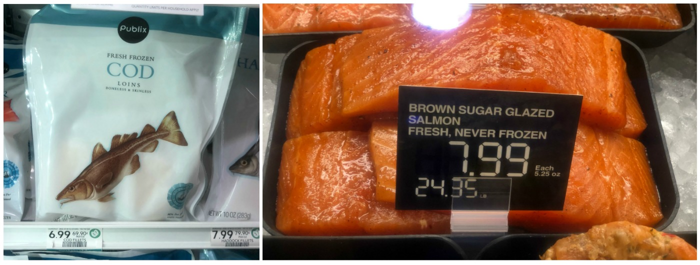 New Frozen & Fresh Fish Ibotta Offers - Save At Publix on I Heart Publix