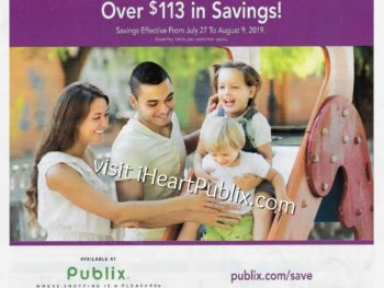 Publix Health & Beauty Advantage Buy Flyer Valid 7/27 to 8/9 on I Heart Publix