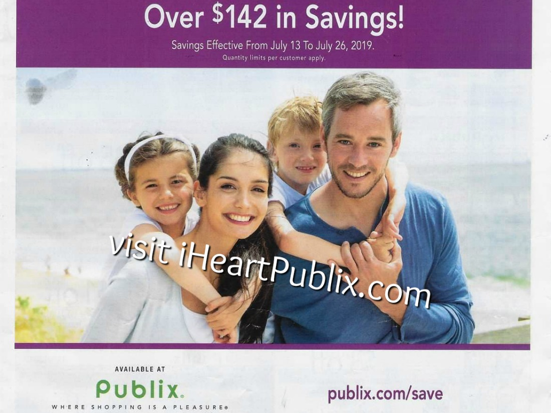 Publix Health & Beauty Advantage Buy Flyer Valid 7/13 to 7/26 on I Heart Publix