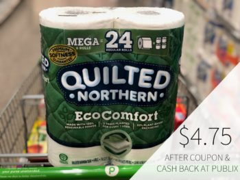 Quilted Northern EcoComfort Bathroom Tissue Just $4.75 At Publix on I Heart Publix 1