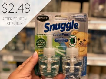 New High Value Renuzit Oil Coupon To Print - Save $3 on I Heart Publix