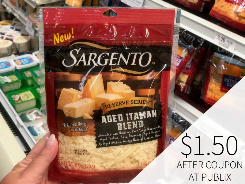 New Sargento Cheese Coupon For The Upcoming Publix Sale on I Heart Publix