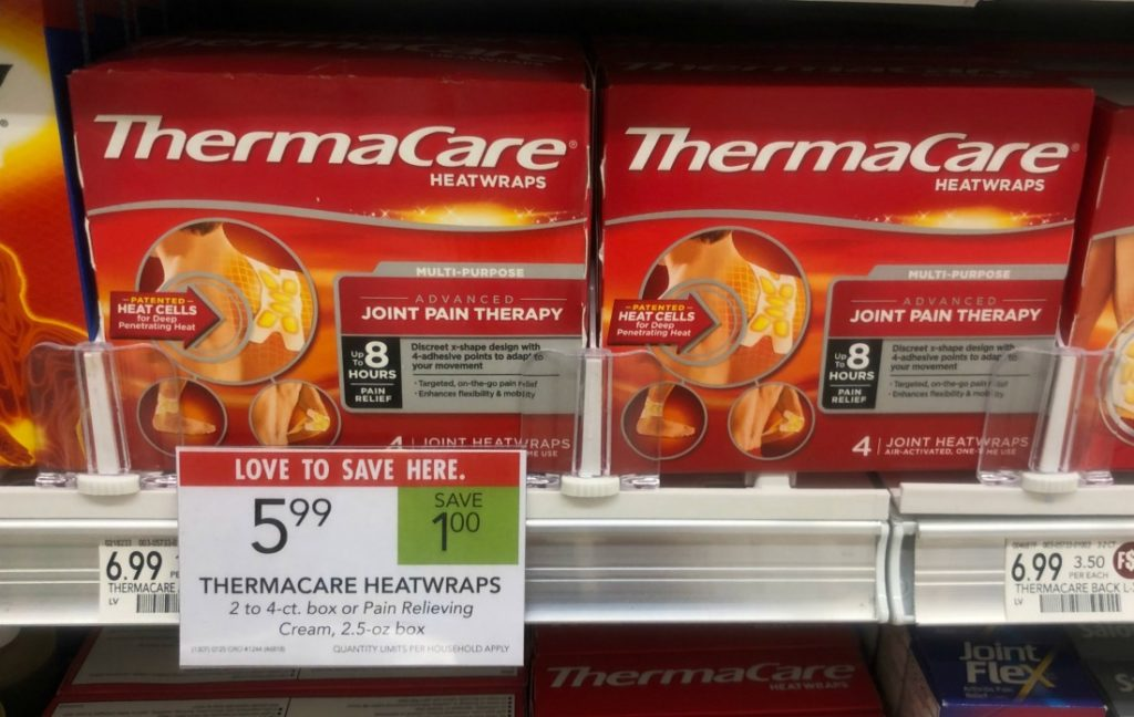ThermaCare Heat Wraps on I Heart Publix