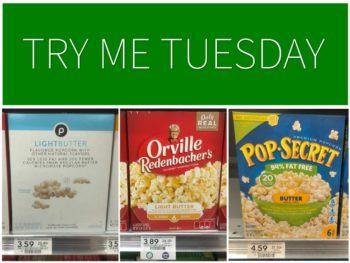 Try Me Tuesday - Publix Popcorn on I Heart Publix