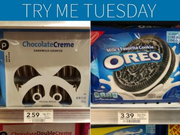 Try Me Tuesday - Publix Chocolate Creme Cookies (OREO Cookies) on I Heart Publix