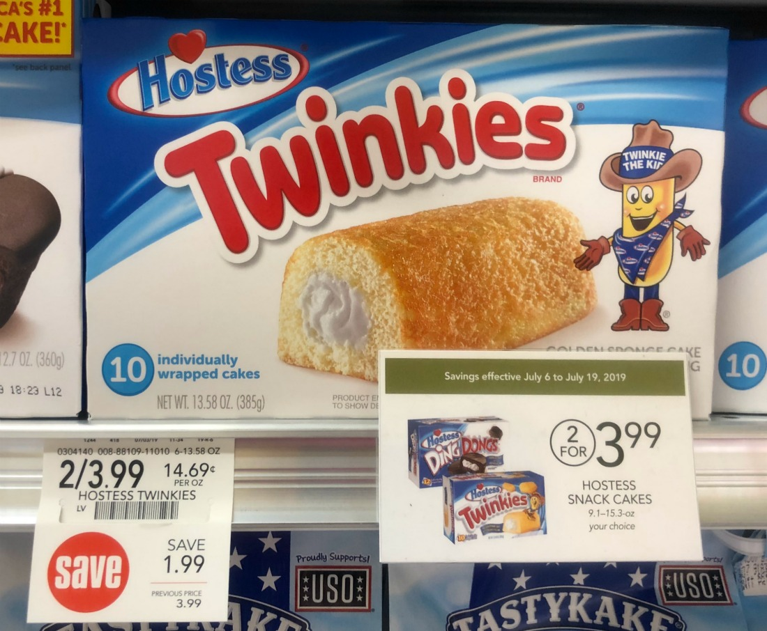 Hostess Twinkies Ibotta For Publix Sale - Just $1 on I Heart Publix