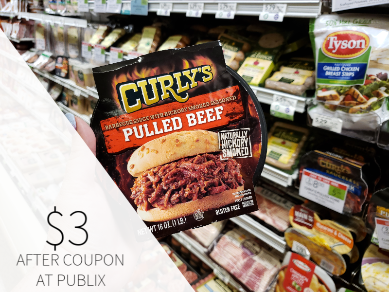 Curly's Pulled Beef, Pork Or Chicken Only $3 At Publix on I Heart Publix