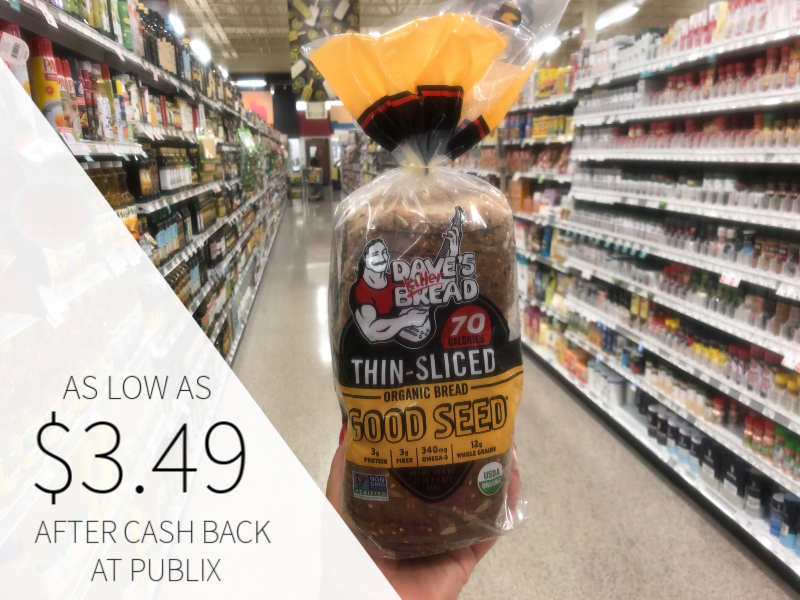Dave's Killer Bread As Low As $3.49 At Publix on I Heart Publix
