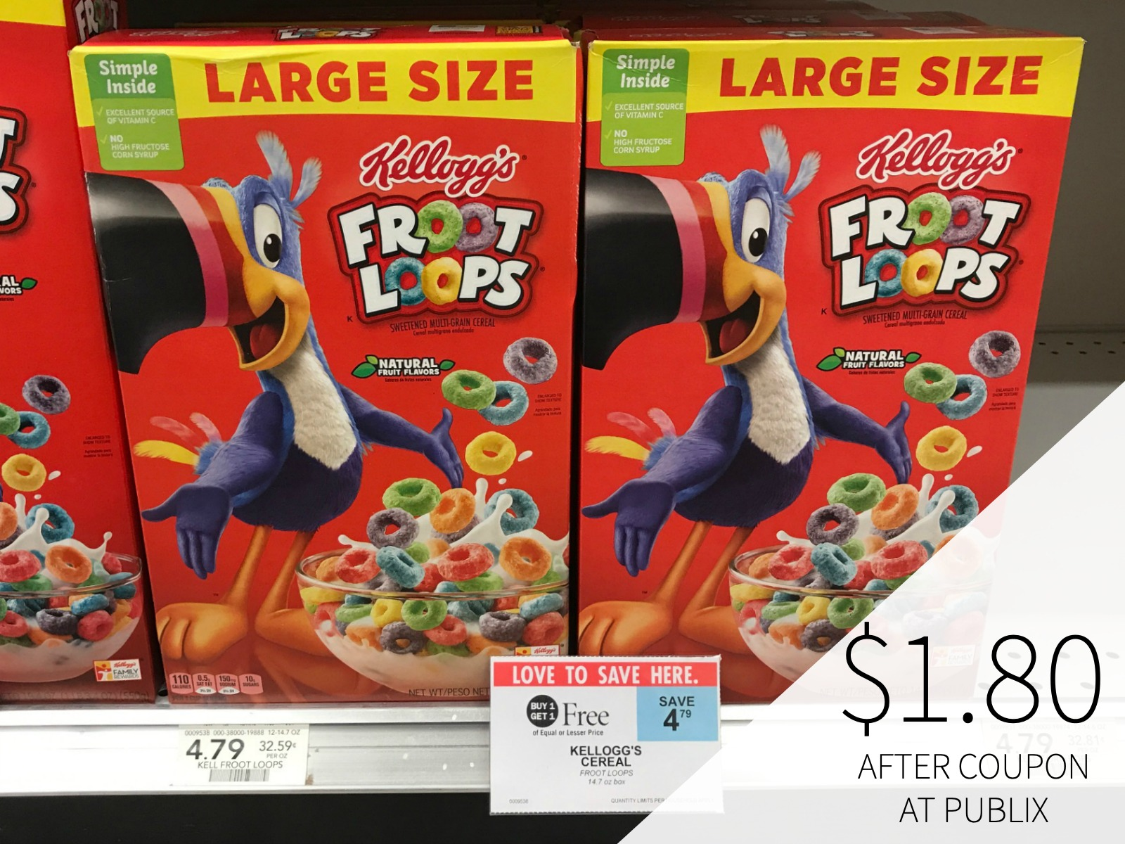 Stock Up On Frosted Flakes And Froot Loops During The BOGO Sale At Publix on I Heart Publix 1
