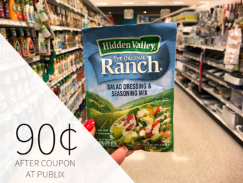 Hidden Valley Products As Low As 90¢ At Publix on I Heart Publix 1