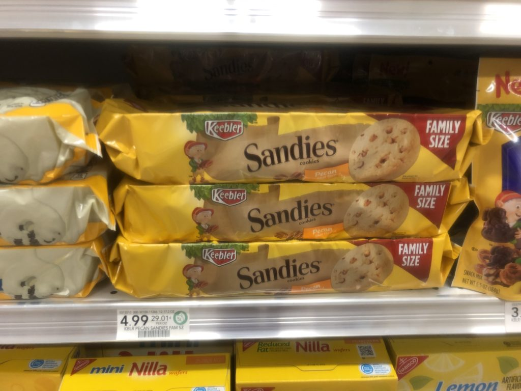 New Keebler Sandie's Cookies Coupon - on I Heart Publix