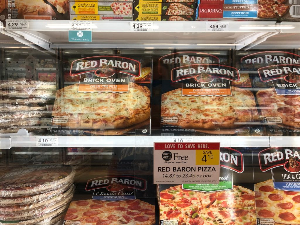 Red Baron Pizzas As Low As $1.72 Each At Publix on I Heart Publix