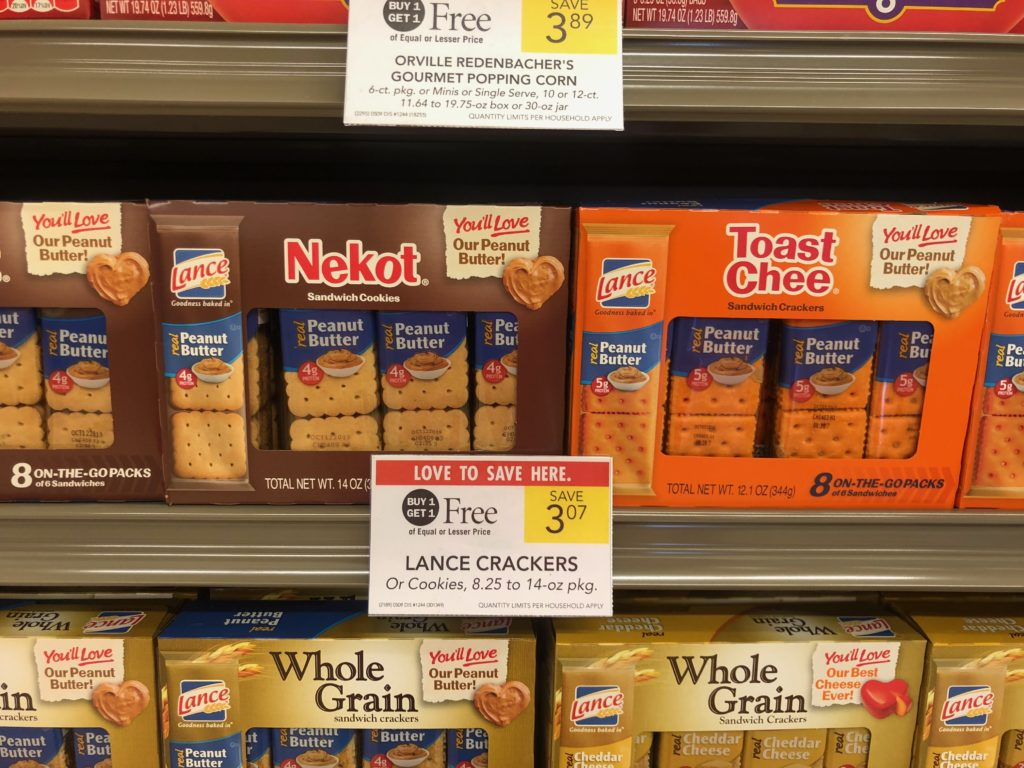 Lance Crackers Or Cookies Only $1.04 At Publix on I Heart Publix
