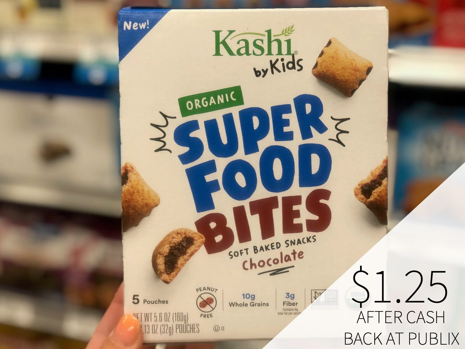 Kashi By Kids Snack Bites As Low As $1.25 Per Box on I Heart Publix