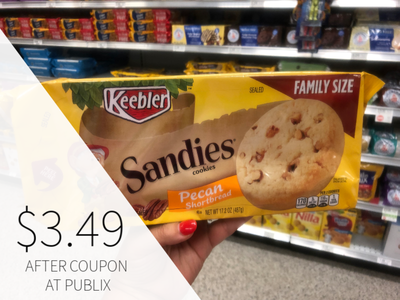 New Keebler Sandie's Cookies Coupon - on I Heart Publix 1