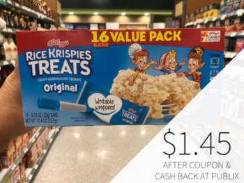 Kellogg's Rice Krispies Treats Poppers Only $1 At Publix on I Heart Publix