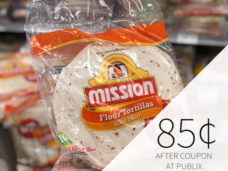 Mission Flour Tortillas Just 85¢ At Publix on I Heart Publix 1