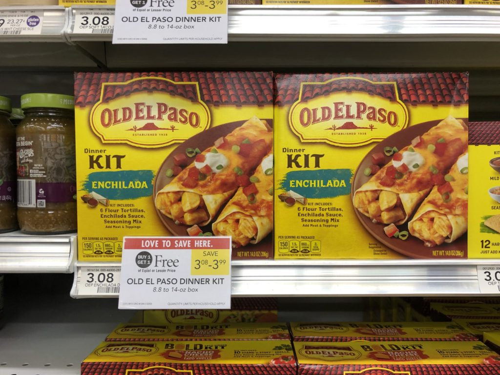 Old El Paso Dinner Kit Just $1.04 At Publix on I Heart Publix
