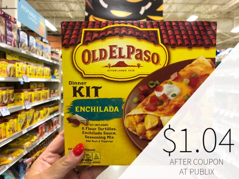 Old El Paso Dinner Kit Just $1.04 At Publix on I Heart Publix 1