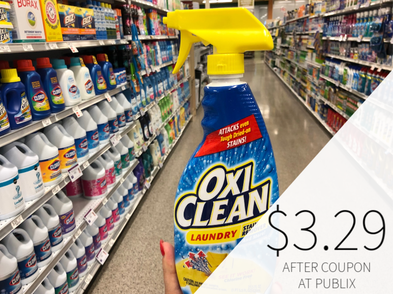 New OxiClean Coupons - As Low As $3.29 At Publix on I Heart Publix 1