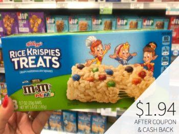 Kellogg's Rice Krispies Treats Just $1.49 At Publix on I Heart Publix