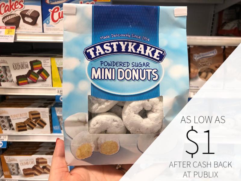 Tastykake Mini Donuts on I Heart Publix 3