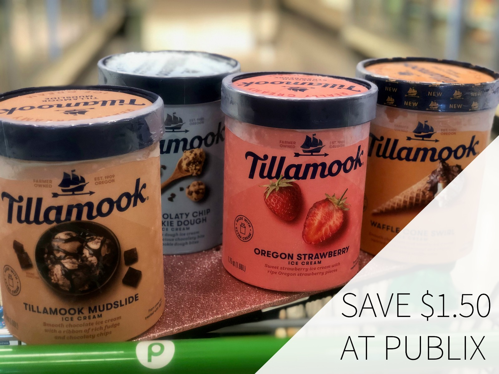 Enjoy The Rich, Creamy Taste Of Tillamook Ice Cream & Save $1.50 At Publix on I Heart Publix