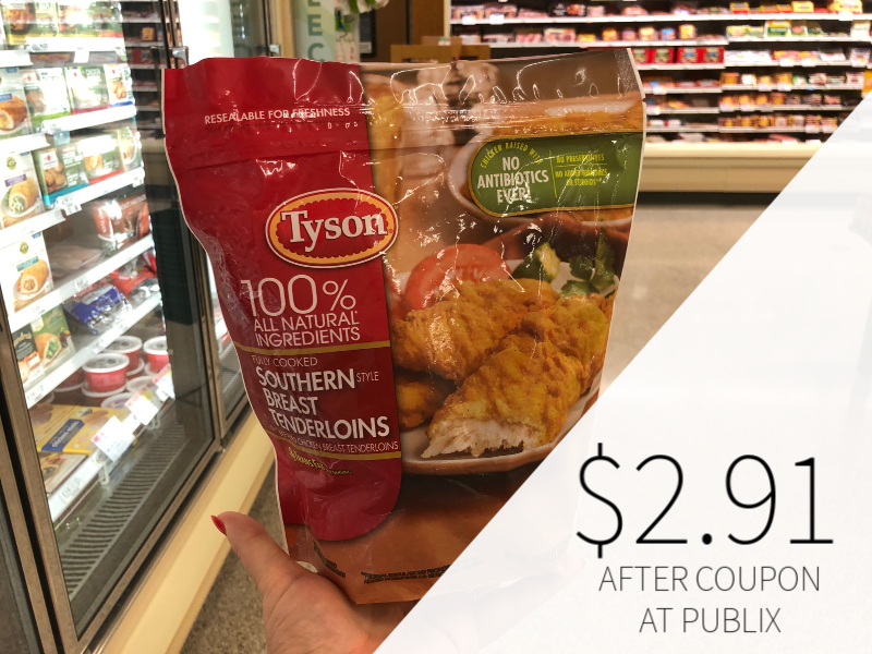 Tyson Bagged Chicken Only $3.75 At Publix on I Heart Publix 1