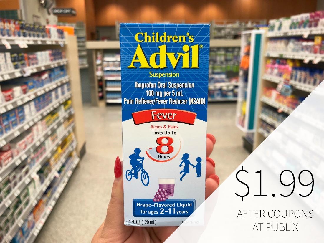 Children's Advil Just $1.99 At Publix on I Heart Publix 1