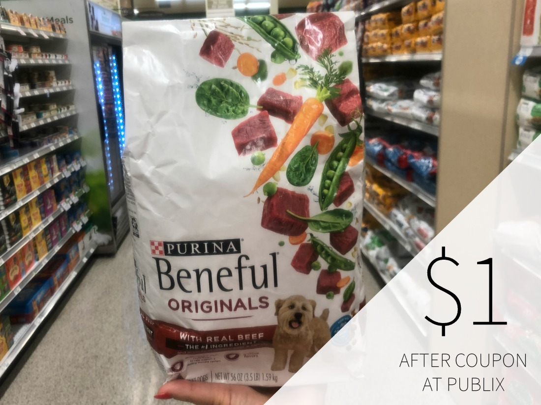 New Purina Beneful Coupon For The Upcoming Publix BOGO Sale - $1.18 Per Bag! on I Heart Publix