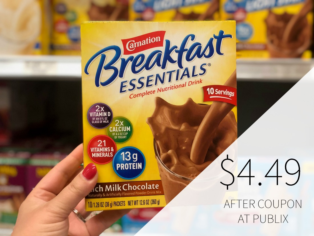 New Carnation Breakfast Essentials Coupon To Print on I Heart Publix 2
