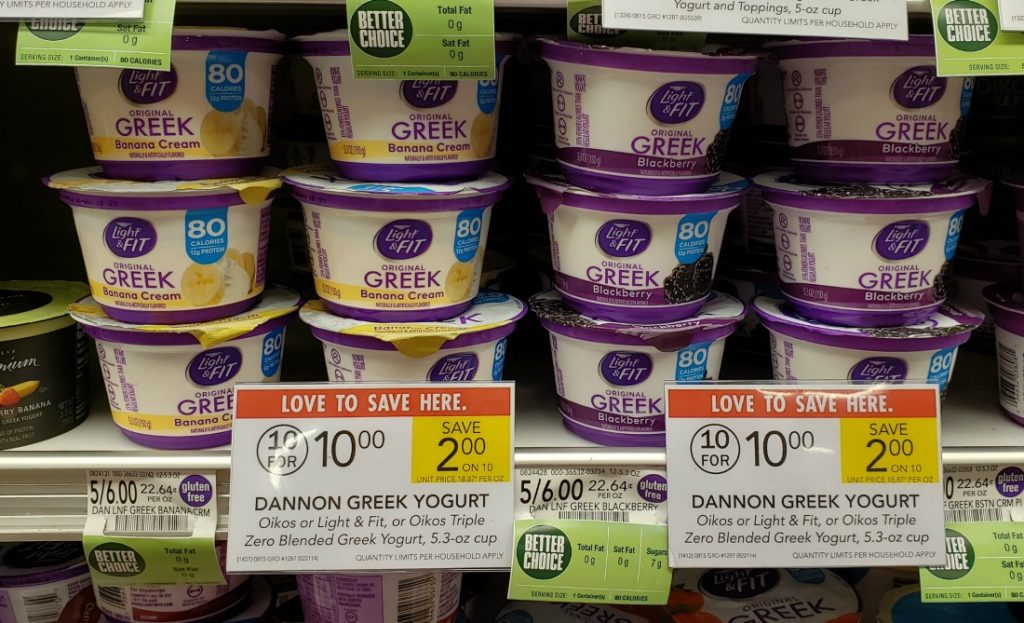 Dannon Light & Fit Greek Yogurt Just 60¢ At Publix on I Heart Publix 1