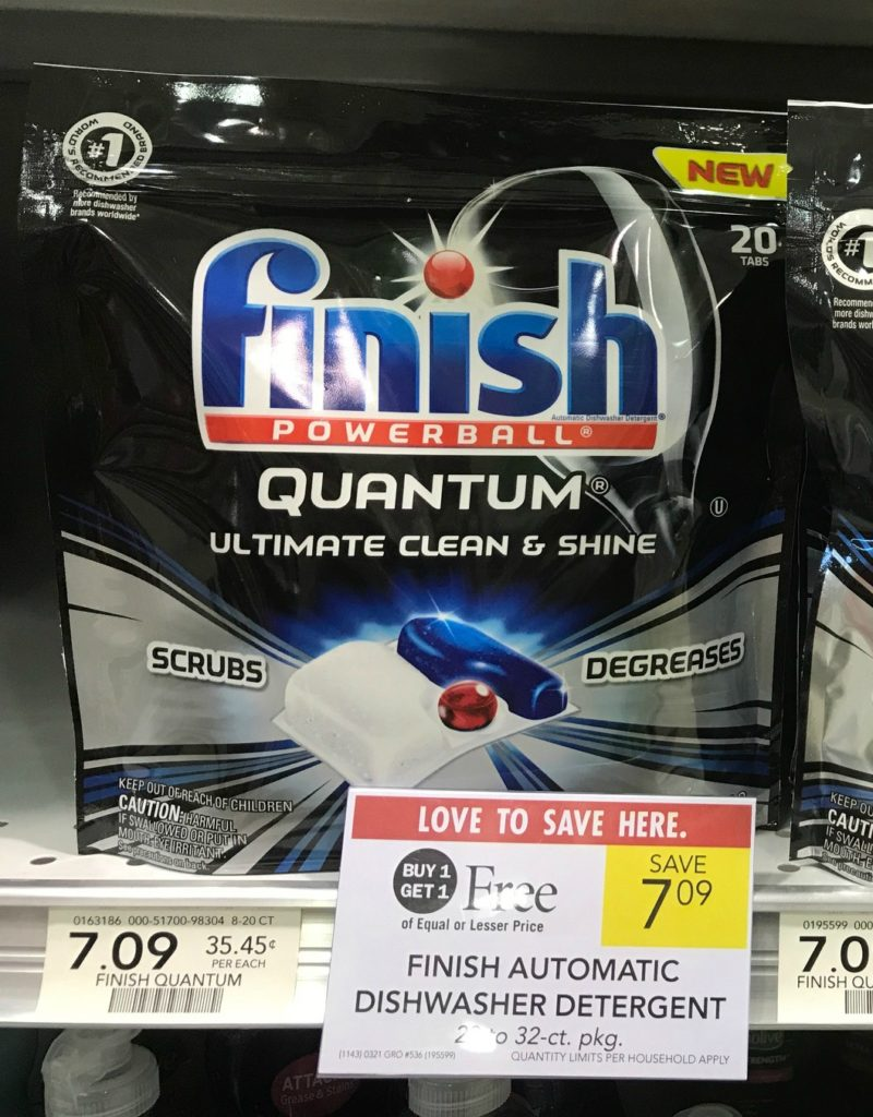 Finish Automatic Dishwasher Detergent Only $1.55 At Publix on I Heart Publix 1