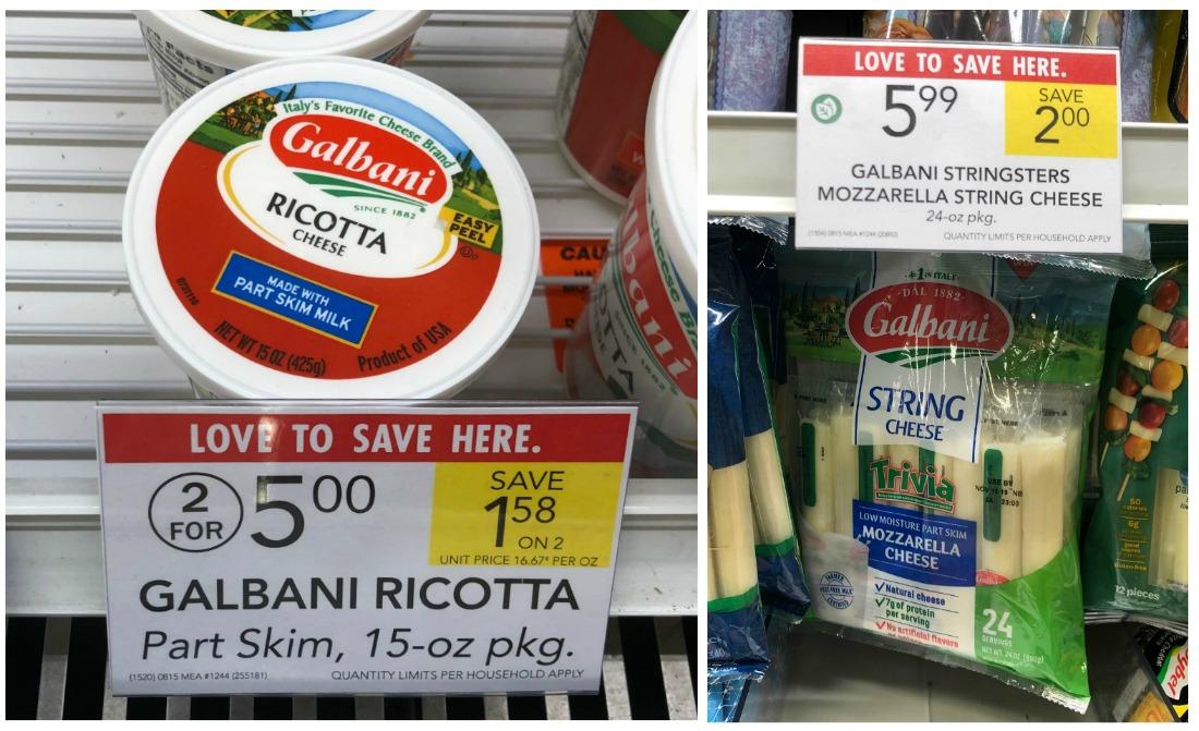 Galbani Ricotta Just $1 At Publix (Plus Cheap Sting Cheese) on I Heart Publix