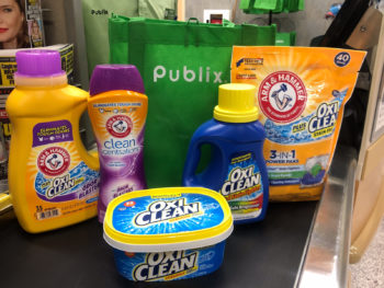 Score Big Savings On ARM & HAMMER™and OxiClean™Laundry Products Right Now At Publix on I Heart Publix