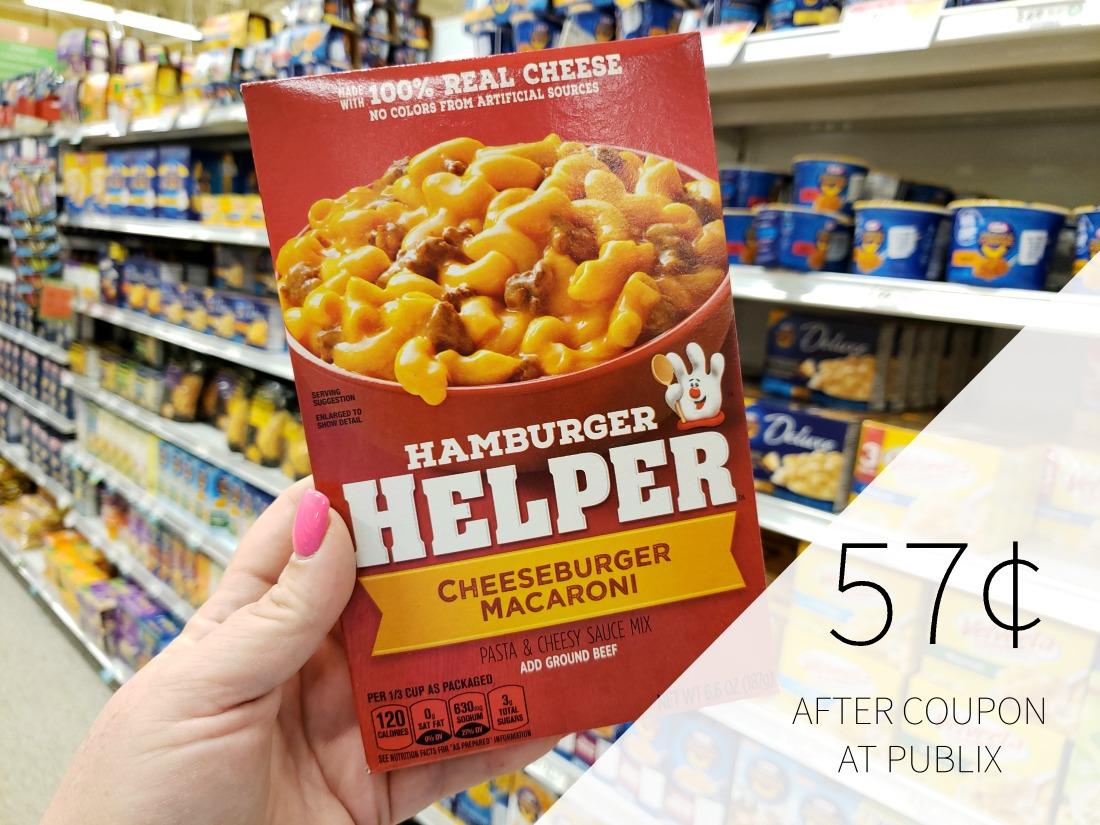 Betty Crocker Hamburger Helper Only 57¢ At Publix on I Heart Publix 1
