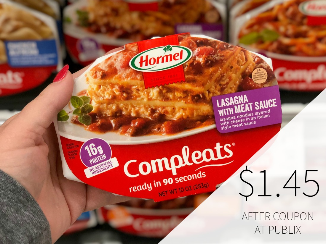 Hormel Compleats Just $1.45 At Publix on I Heart Publix 1