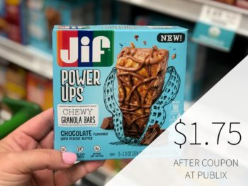 New Jif Power Ups Coupon For Publix Sale - $1.75 At Publix (Over Half Off The Regular Price!) on I Heart Publix