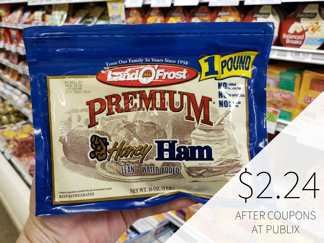 Land O'Frost Premium Sliced Meat Just $2.24 on I Heart Publix