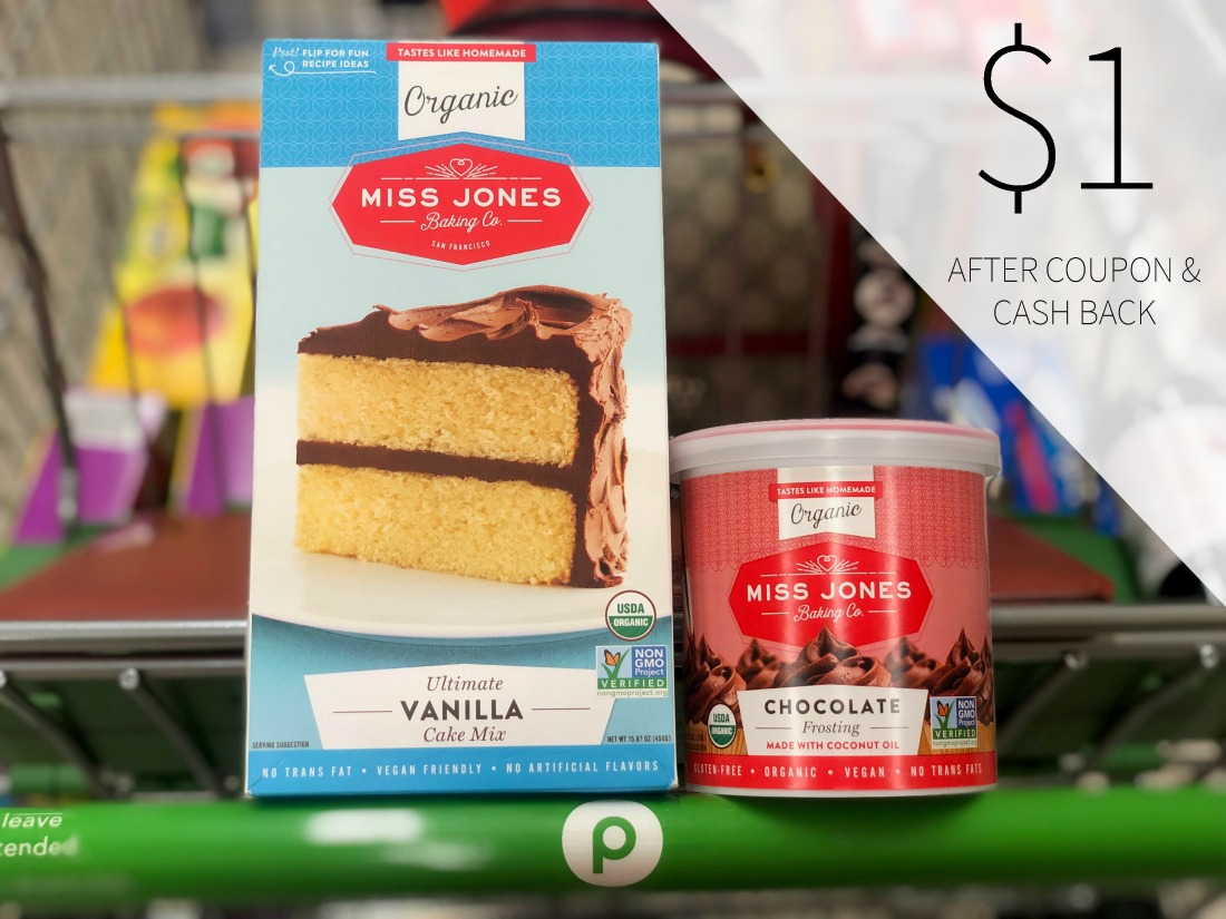 Miss Jones Baking Products As Low As $1 At Publix on I Heart Publix 1