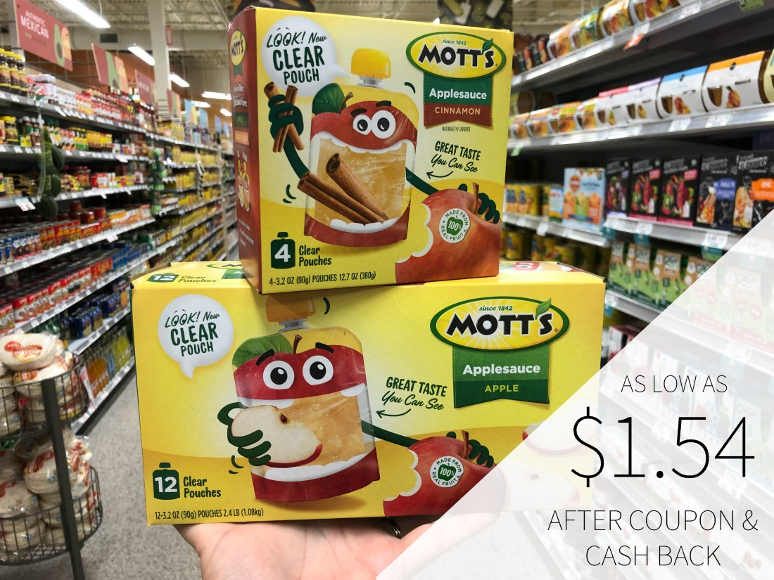 Mott's Clear Pouches - As Low As $1.54 At Publix on I Heart Publix