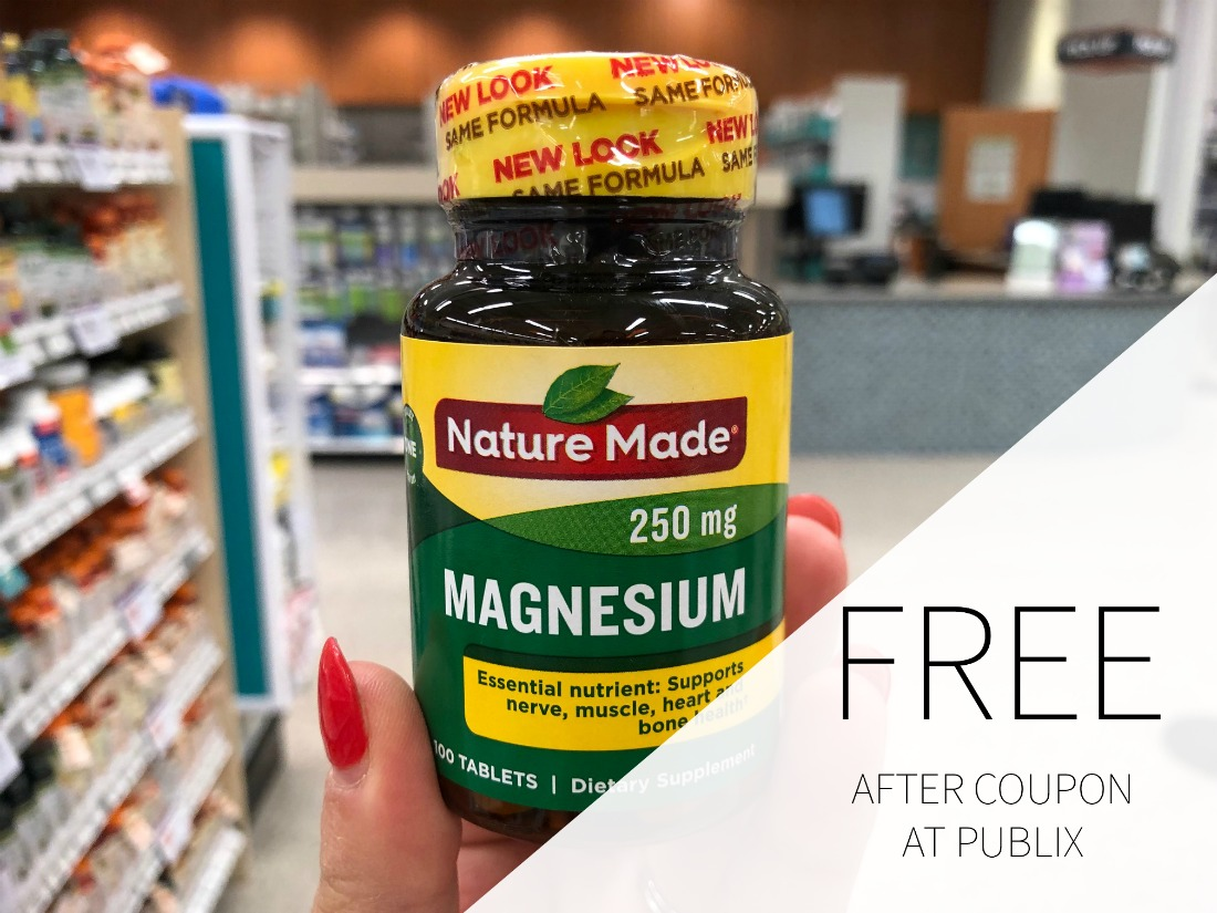 Nature Made Vitamins As Low As FREE At Publix on I Heart Publix