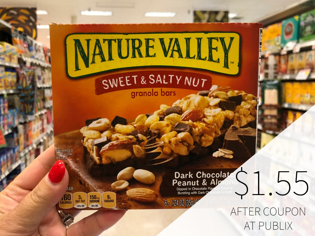 Nature Valley Bars Just $1.55 At Publix on I Heart Publix