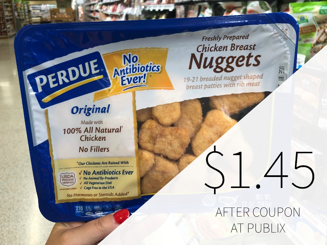 Perdue Chicken Breast Nuggets Or Strips Just 1 45 At Publix Plus Cheap Fresh Amp Frozen Chicken
