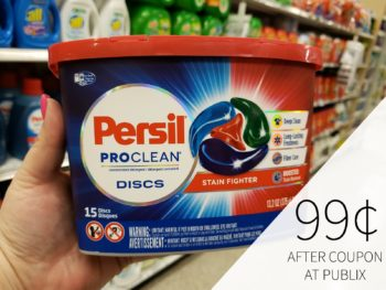 New Persil Coupon Makes Detergent Just 99¢ At Publix on I Heart Publix